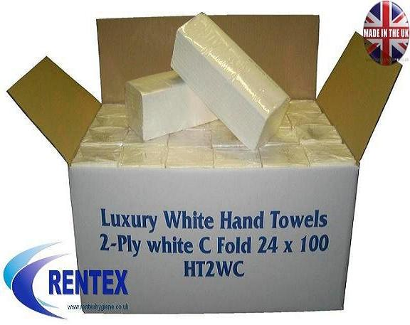 C Fold Paper Hand Towels 2ply White