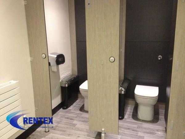 chrome sanitary hygiene unit
