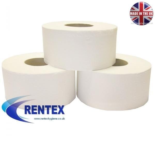 Mini jumbo toilet rolls 2ply