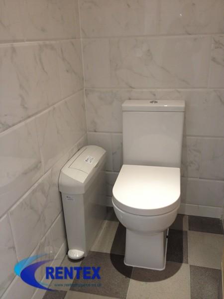 sanitary disposal bin