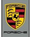 Porsche Logo Car Mat