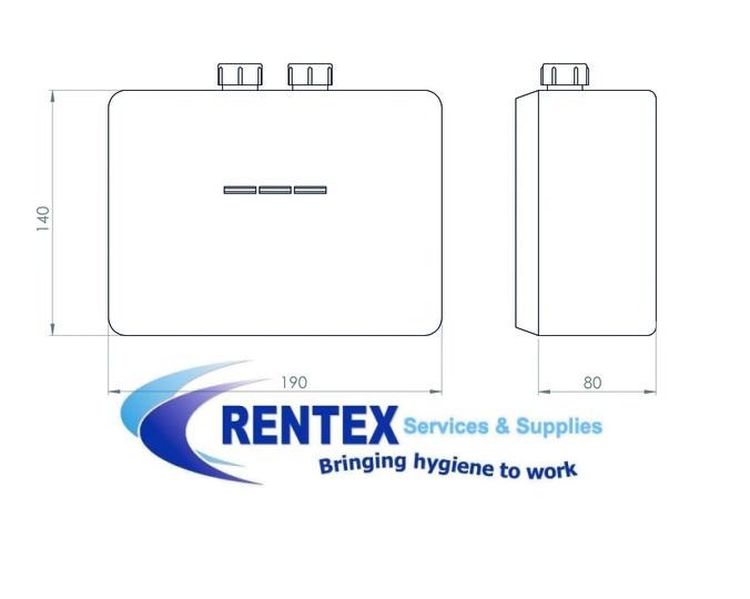 Inline water heater