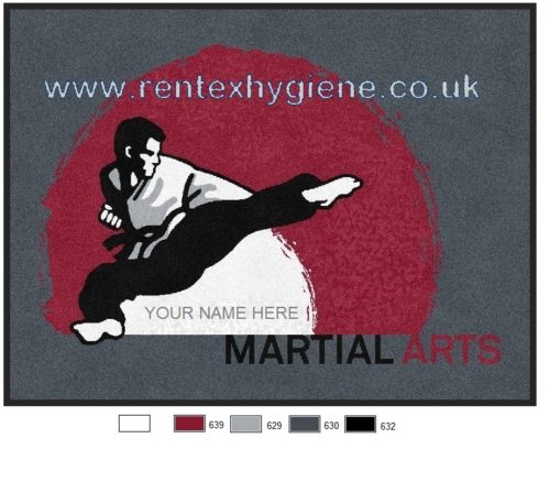 Martial Arts Logo Matting