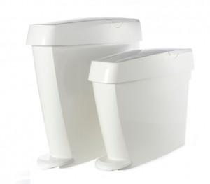 white washroom dispensers