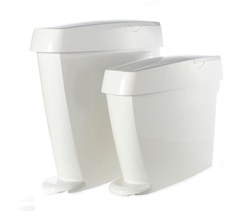 Classic White Washroom Dispensers