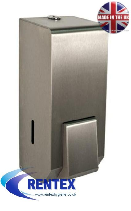 Sanitiser Dispenser Stainless Steel