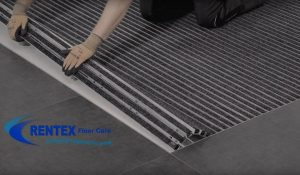 Aluminium mat installation