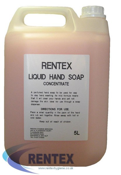 Liquid Hand Soap Perfumed 5 Litre