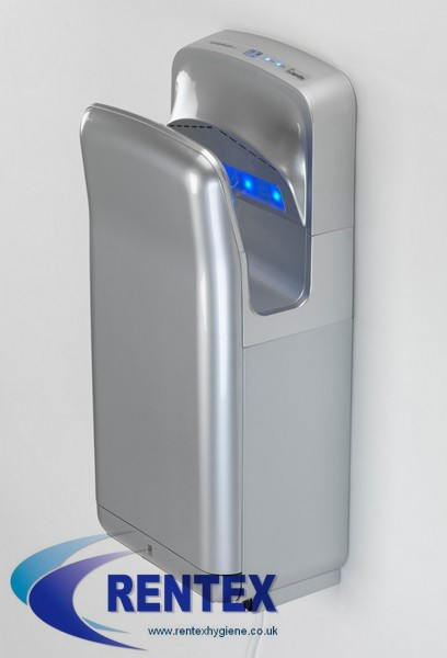 Electric Blade Hand Dryer Gorillo Silver