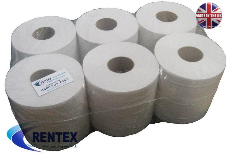 Centrefeed Wiper Roll 2ply Embossed