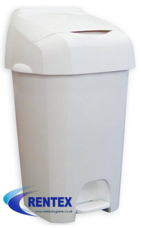 White Nappy Bin