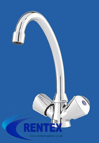 Vented Chrome Mixer Tap