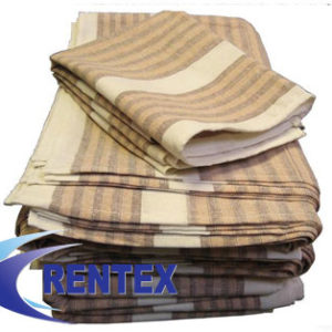 Tea Towels Brown Stripe 1 X 10