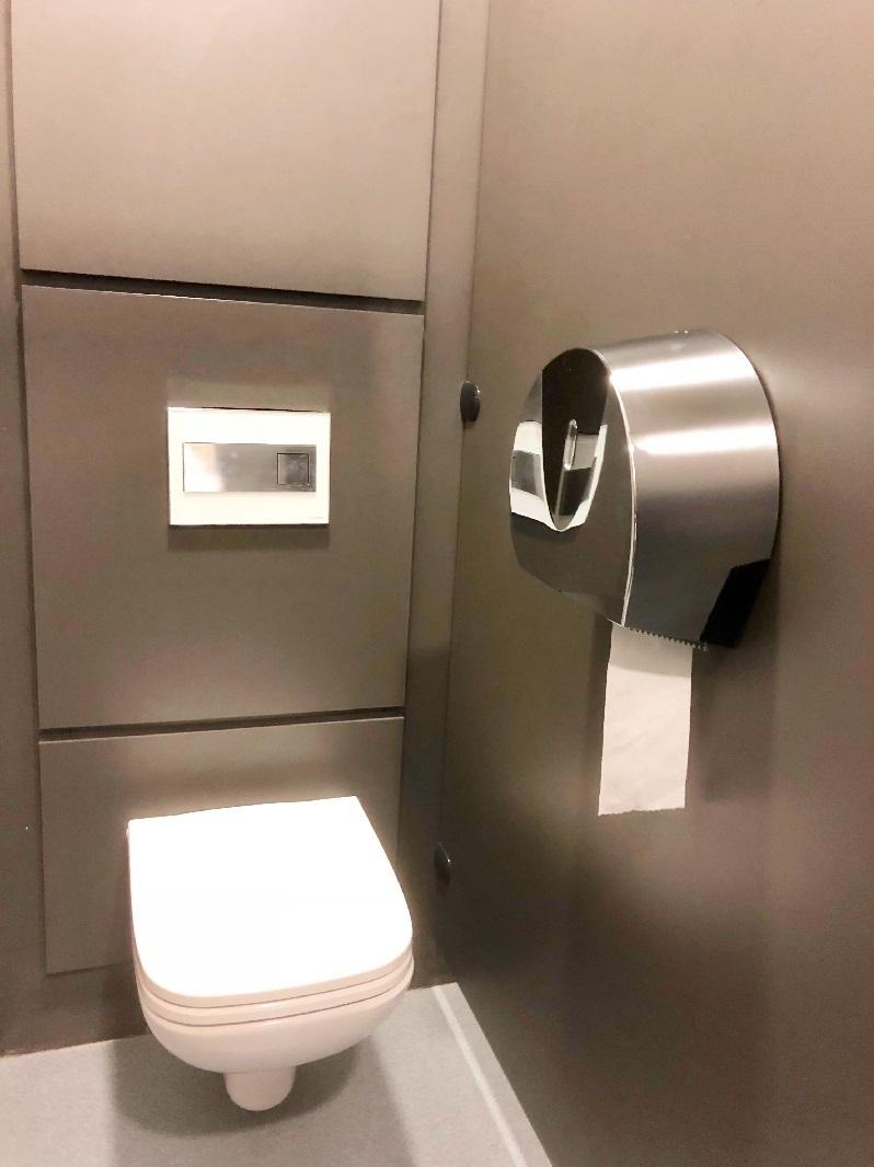 toilet roll dispenser chrome