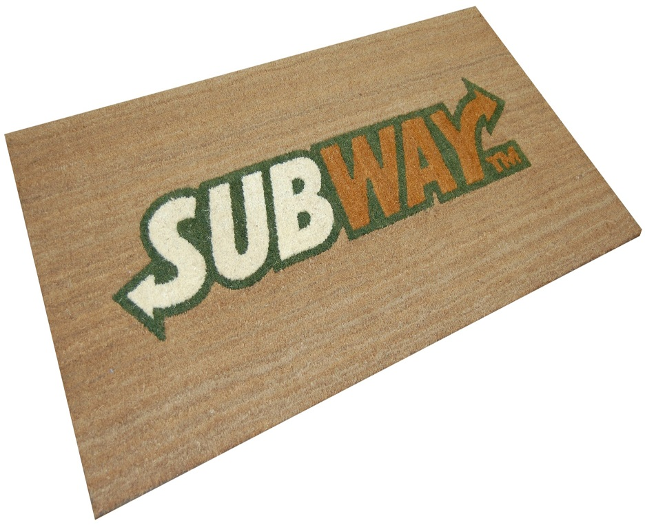 Subway Logo Mat