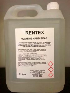 foaming hand soap 5 litre