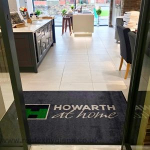 showroom logo mats