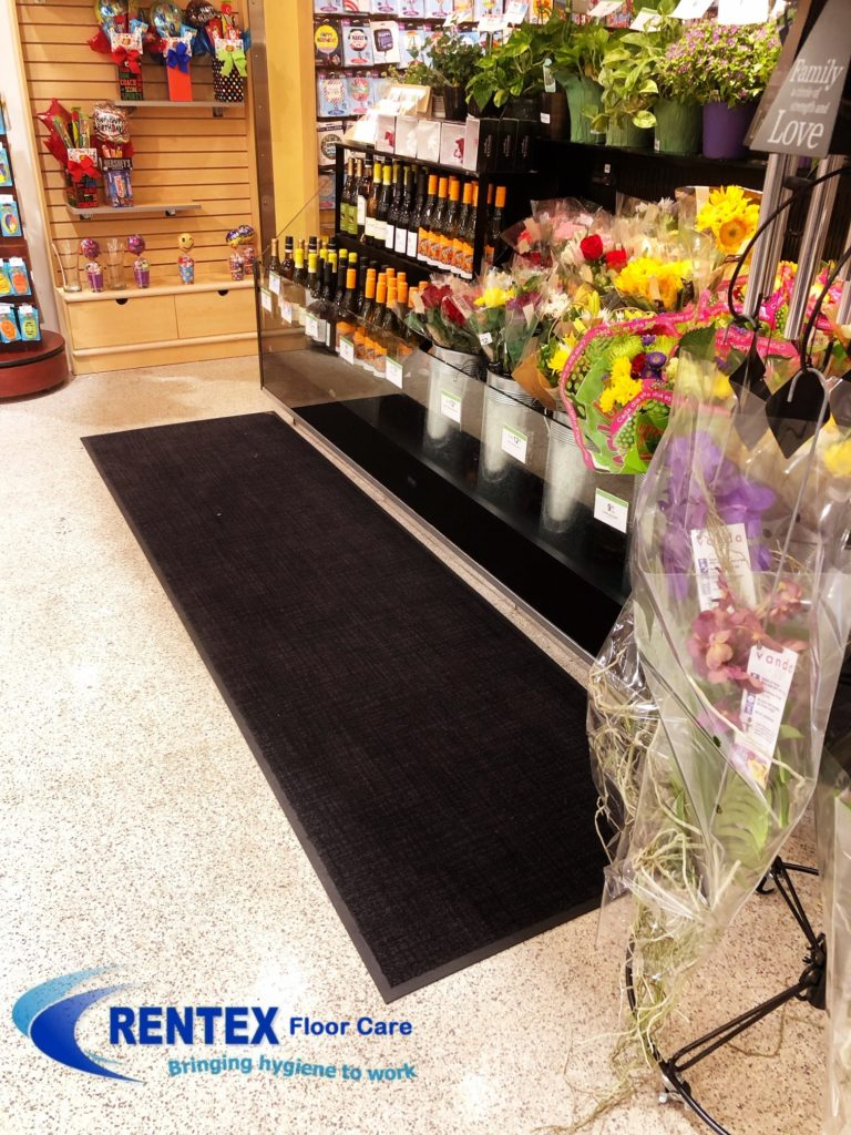 display matting for shops