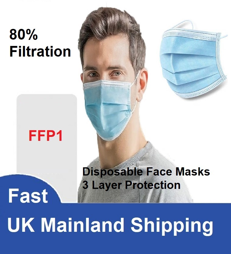 Disposable Face Masks FFP1 X 50