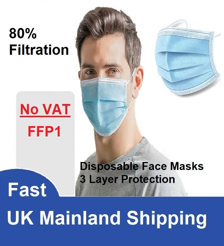 Disposable Face Masks FFP1