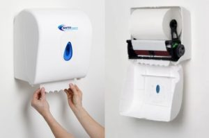 Wall mounted auto towel dispenser