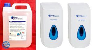 hand sanitiser dispensers d2