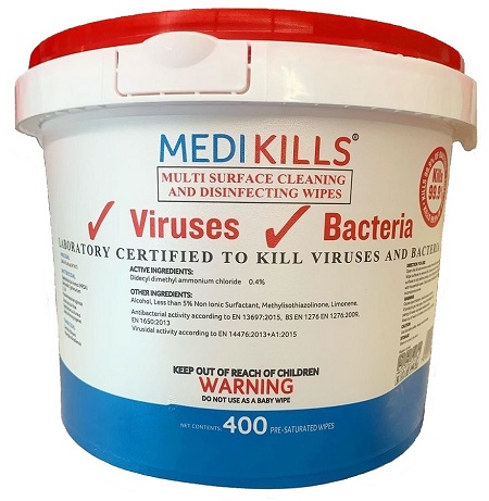 MediKills Disinfectant Surface Wipes 400