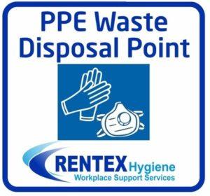 PPE Waste Disposal Bin