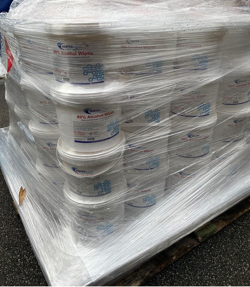 Alcohol Surface Sanitiser Cleaning Wipes Bulk